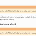 Was PEP unter Android nicht kann: Keys synchronisieren.